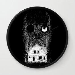 Horror house Wall Clock