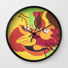 Cat 1 Wall Clock