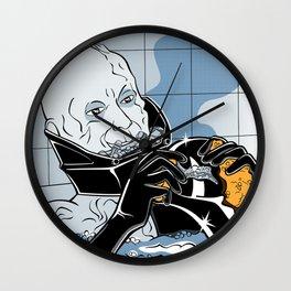 Luke Lichtenstein - Sith in Bath Wall Clock