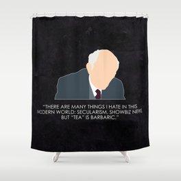 Being Human - Patrick Kemp Shower Curtain