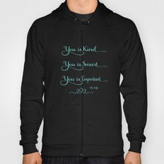 You is Kind - white and blue Hoody