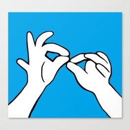 ASL Interpret Canvas Print