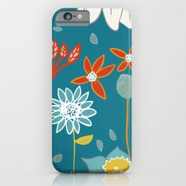 Happy Flowers Collection iPhone Case