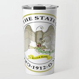seal of new mexico Travel Mug