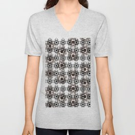 Abstract geometric pattern.10 Unisex V-Neck