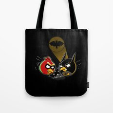 Batbird & Robin Tote Bag
