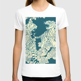 floral tigers T-shirt