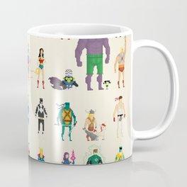 Pixel Nostalgia Coffee Mug