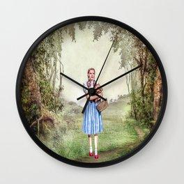 Dorothy & Tóto Wall Clock
