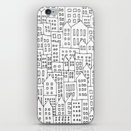 Coit City Pattern 1 iPhone Skin