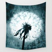 dandelion Wall Tapestries featuring dandelion by Falko Follert Art-FF77