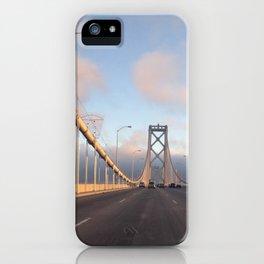 San Francisco Bay Bridge by sunset iPhone Case