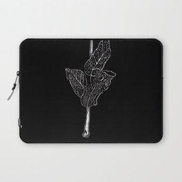 Wood cut leaves Laptop Sleeve