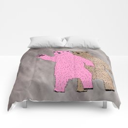 Build A Bigger Bear, Catch a Load of Salmon Comforters