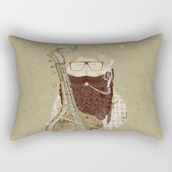 evenings sonnet Rectangular Pillow