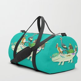 Crocodile Duffle Bag
