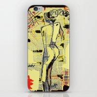 women iPhone & iPod Skins featuring Women by sladja