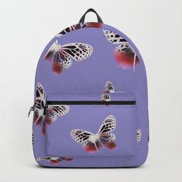 Olivia Rodrigo Butterfly Geometric Pattern Backpack