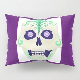 Sugar Skull with Jeweled Eyes Pillow Sham