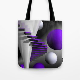 go violet -12- Tote Bag