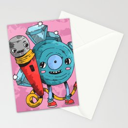 """""""Run the Jewels"""" by Jacob Livengood Stationery Cards"""