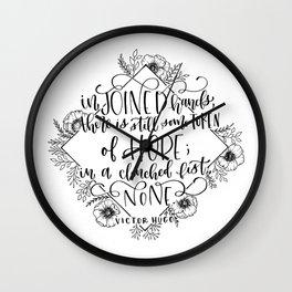 Token of Hope Wall Clock