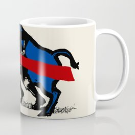 BUFFALO CHARGE Coffee Mug
