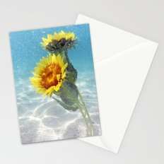 Underwater Sunflowers  Stationery Cards