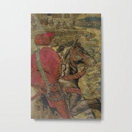 Hunt of Maximilian 3 Metal Print