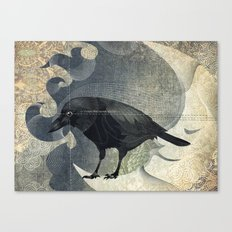 From a raven child Canvas Print