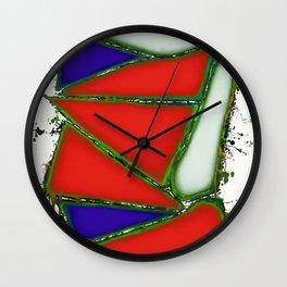 Red sail Wall Clock
