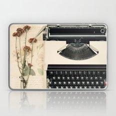 Romantic Typewriter (Retro and Vintage Still Life Photography) Laptop & iPad Skin