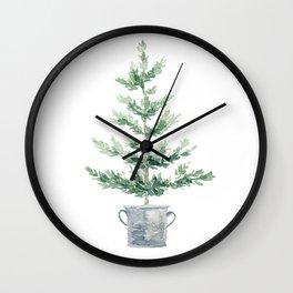 Christmas fir tree Wall Clock