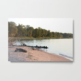 Whitefish Bay, Michigan's Upper Peninsular Metal Print