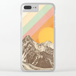 Mountainscape 1 Clear iPhone Case