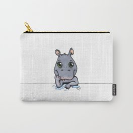 Cute Critters - Baby Hippo Carry-All Pouch