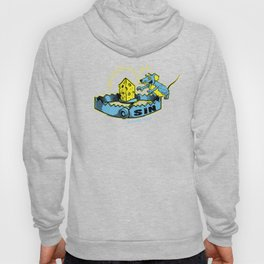 Sin Trap - Blue and Yellow Hoody