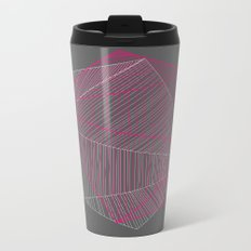 Shapes N Stripes Metal Travel Mug