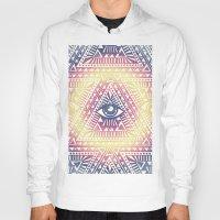 illuminati Hoodies featuring Native Illuminati by Uprise Art & Design