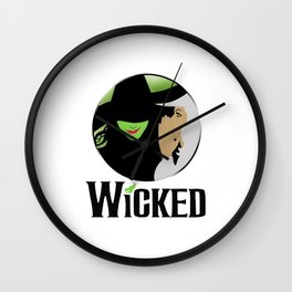 broadway musical wicked Wall Clock