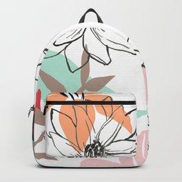 Flowers in June Backpack