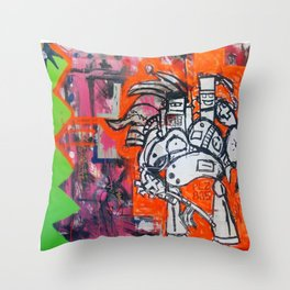 PLZ-885 Throw Pillow
