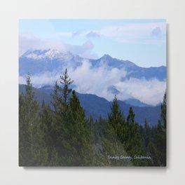 Trinity Alps in Trinity County, California Metal Print