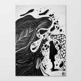 Engulfed Canvas Print
