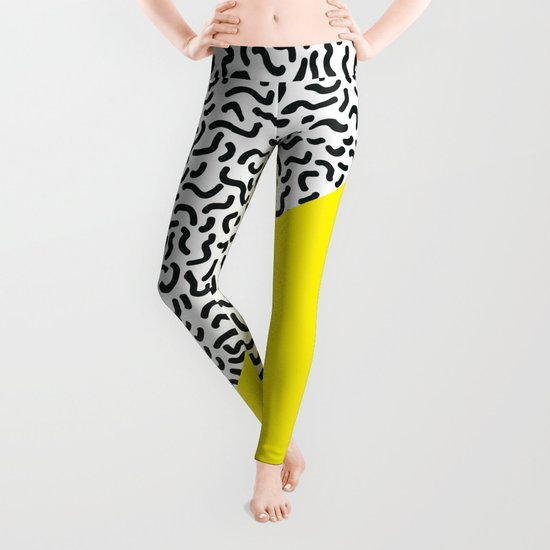 Pop Art Pattern 2 Leggings