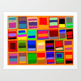 Rothkoesque Art Print