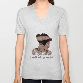 I Would Rule my Own Fate - Helen of Sparta Unisex V-Neck