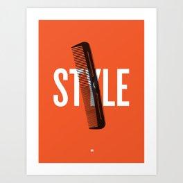 Barbershop Design Ethos / Style Art Print