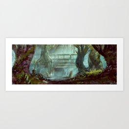 The Former Apothecary Art Print
