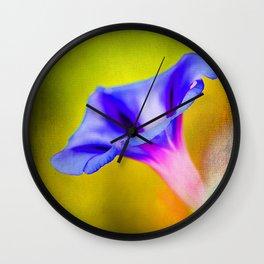 Painted Glory Wall Clock